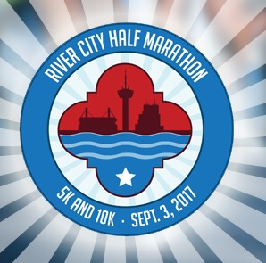 River City Half Marathon, 5k & 10k – 9/3/17